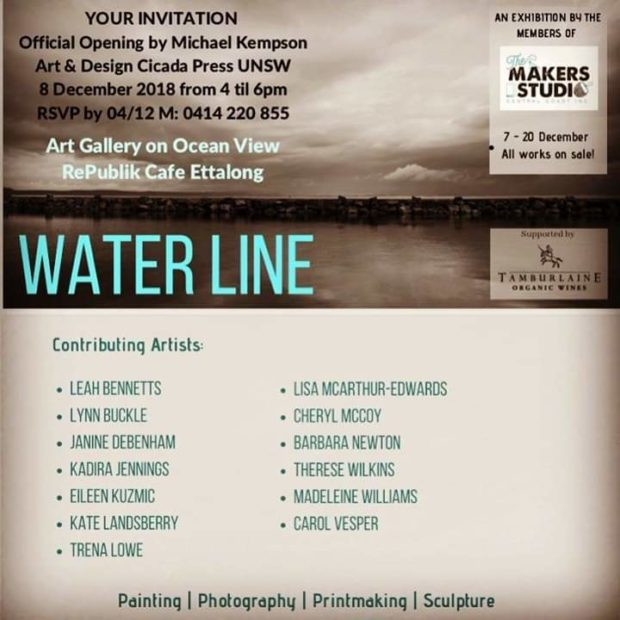 Waterline @ Makers Studio Central Coast