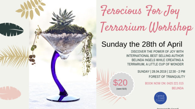 FLYER - Terrarium Workshop 28 April 2019